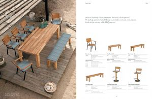 TITAN (Teak) Dining Table & Chairs by Barlow Tyrie