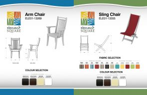 ARM & SLING CHAIRs by Element Square