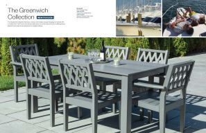 GREENWICH Dining Collection (1) by Seaside Casual