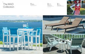 MAD Chaises & Bar Seating Collection by Seaside Casual