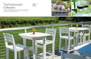 PORTSMOUTH Bar Seating Collection by Seaside Casual