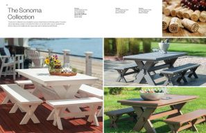 SONOMA Picnic Table Collection by Seaside Casual