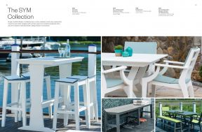 SYM Bar Seating Collection by Seaside Casual
