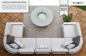 Larssen Cushion Sectional by Telescope Casual Residential