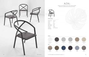 AZAL (New for 2021) Arm Chairs by Oxford Garden