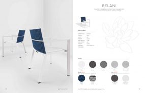 BELANI (New for 2021) Arm Chairs by Oxford Garden