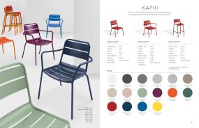 KAPRI (New for 2021) Arm Chairs by Oxford Garden