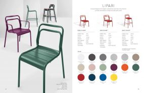 LIPARI (New for 2021) Arm Chairs by Oxford Garden