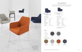 OLAND (New for 2021) Arm Chairs by Oxford Garden