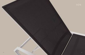 VEN (New for 2021) Lounger Chaise by Oxford Garden