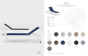 VEN (New for 2021) Lounger Chaises by Oxford Garden