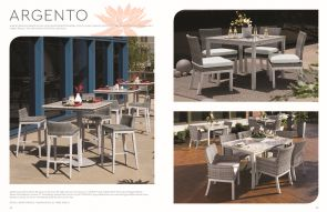 ARGENTO (1) 4-Person Seating by Oxford Garden