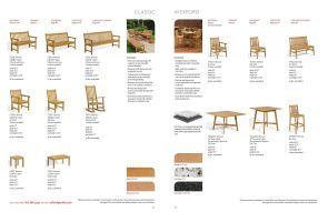 CLASSIC (2) & WEXFORD Chairs & Benches by Oxford Garden
