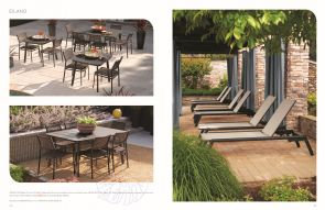 EILAND (3) Dining & Loungers by Oxford Garden