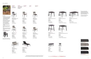 EILAND (5) Dining Chairs & Tables by Oxford Garden
