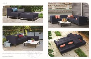 KORAL (2) Sectional by Oxford Garden
