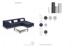 KORAL (3) Sectional by Oxford Garden