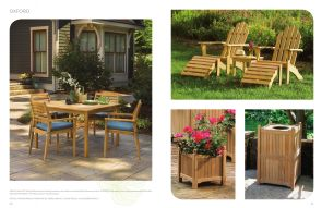 OXFORD (2) Dining & Adirondack Chairs by Oxford Garden