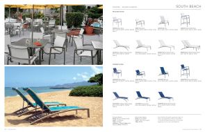 SOUTH BEACH (Sling Seating) By Tropitone