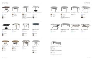 DINING Tables (2) By Tropitone