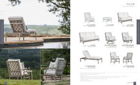 WILLOW (Aluminum) Cushion Seating by Lane Venture