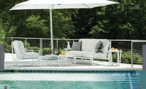 BISCAYNE BAY (Aluminum) Chat Area by Lane Venture