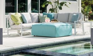 BISCAYNE BAY (Aluminum) Sectional by Lane Venture