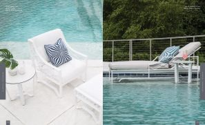 BISCAYNE BAY (Aluminum) Lounger & Arm Chair by Lane Venture
