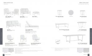 BISCAYNE BAY (Aluminum) Seating & Dining by Lane Venture