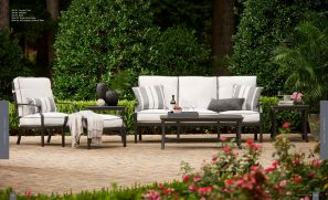 RALEIGH  (Aluminum) Loveseat & Lounge Chair by Lane Venture