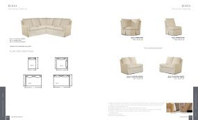 ELENA (Upholstery) Sectional Seating By Lane Venture