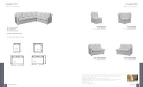CHARLOTTE (Upholstery) Sectional Seating By Lane Venture