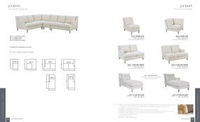 JACKSON (Upholstery) Sectional Seating By Lane Venture