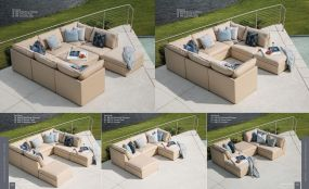 COLSON (Upholstery) Modular Sectional(s) By Lane Venture