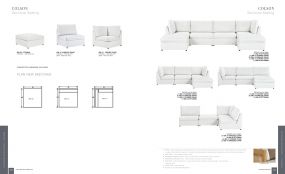 COLSON (Upholstery) Sectional Seating By Lane Venture