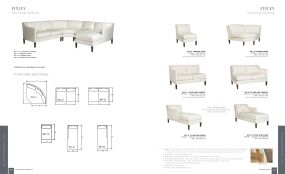 FINLEY (Upholstery) Sectional Seating By Lane Venture