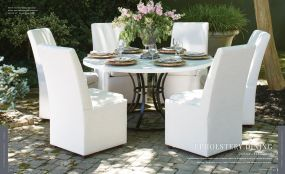 OUTDOOR UPHOLSTERY 6pc DINING By Lane Venture