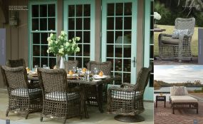 BAY Classic Wicker Dining By Lane Venture