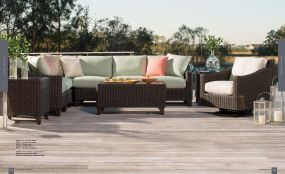 REQUISITE Woven Sectional By Lane Venture