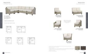 REQUISITE Woven Sectional Seating By Lane Venture