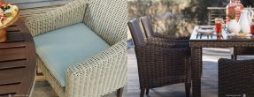 REQUISITE Woven Dining Chairs By Lane Venture