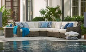OASIS Woven Sectional By Lane Venture