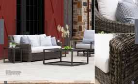 OASIS Woven Loveseat Chat By Lane Venture
