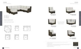 OASIS (WOVEN) Sectional Seating By Lane Venture