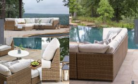 CAMPBELL (WOVEN) Modular Sectionals By Lane Venture