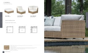 CAMPBELL (WOVEN) Sectional Seating By Lane Venture