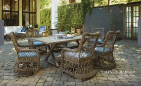 MYSTIC HARBOR (WOVEN) 6pc Dining By Lane Venture