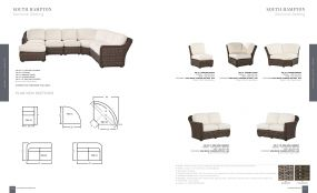 SOUTH HAMPTON (WOVEN) Sectional Seating By Lane Venture