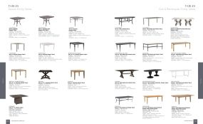 SQUARE, OVAL & RECTANGULAR DINING TABLES By Lane Venture