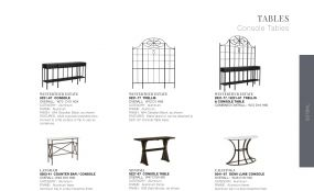 CONSOLE TABLES By Lane Venture